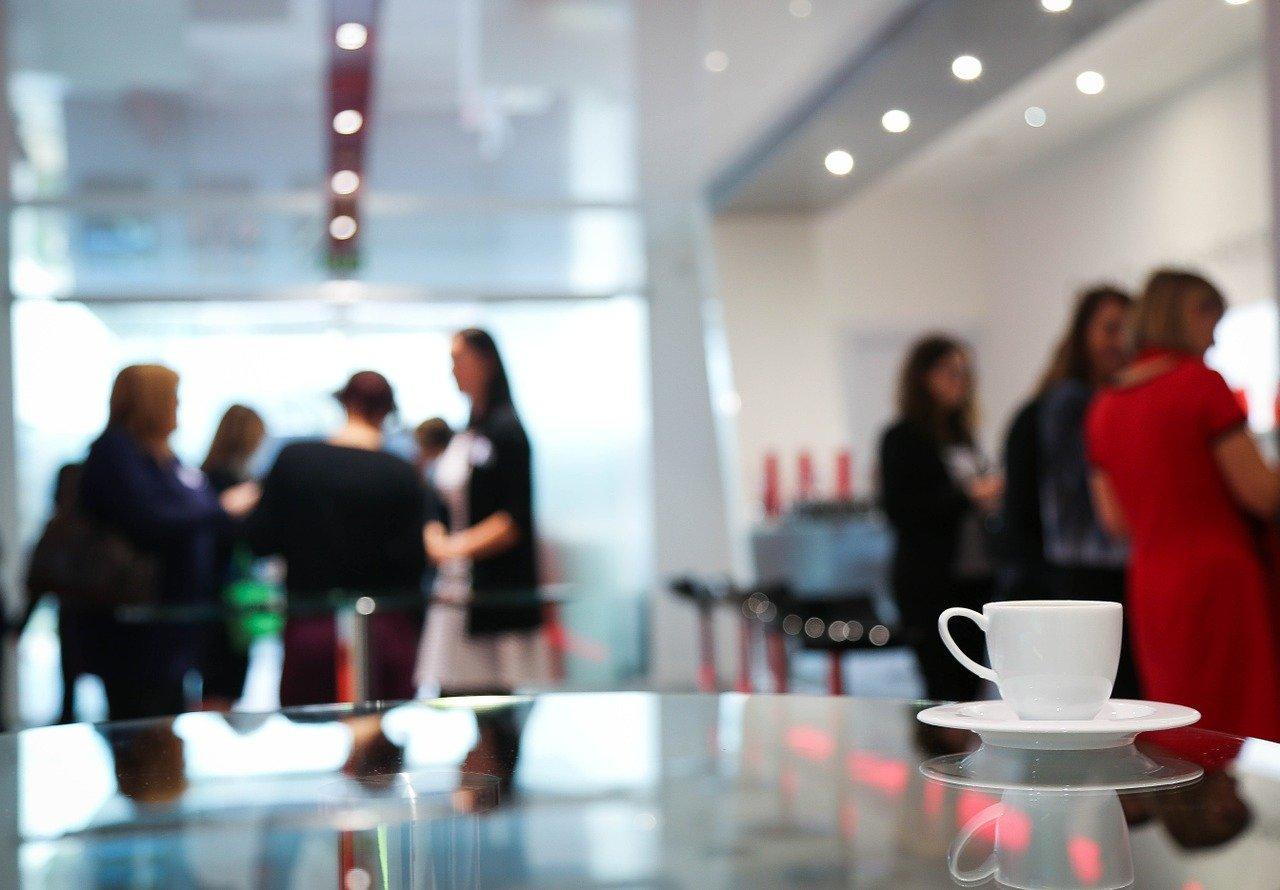 conférence café