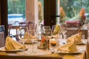 table verres nappe